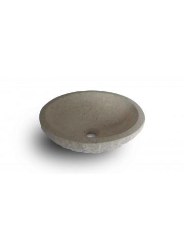 Okrągły zlew z Scrula Cream