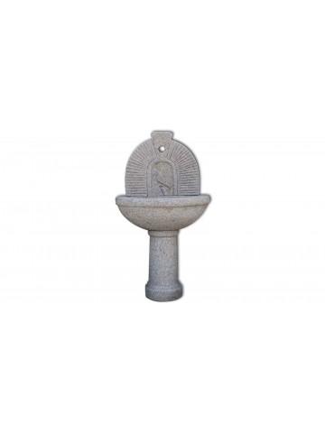 Wysoka fontanna z różowego Granitu n.1