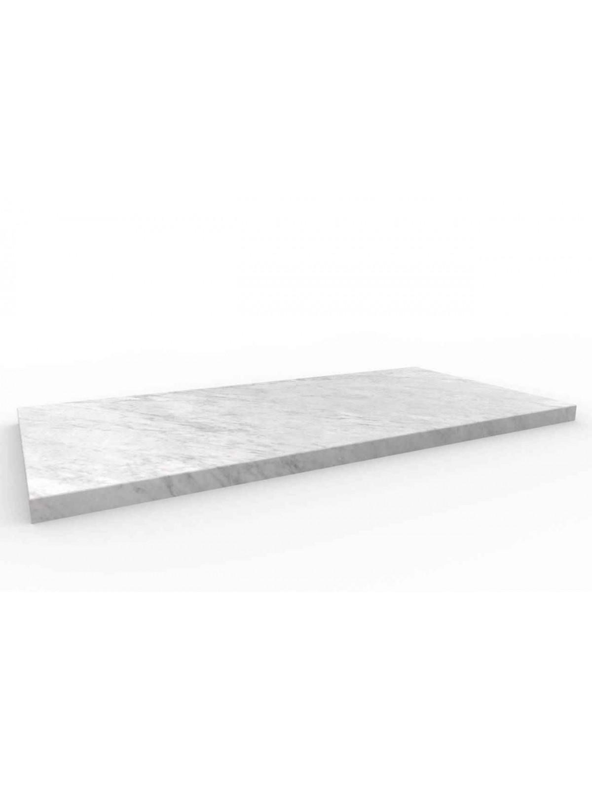 Posadzka z Bianco di Carrara 60x30 cm