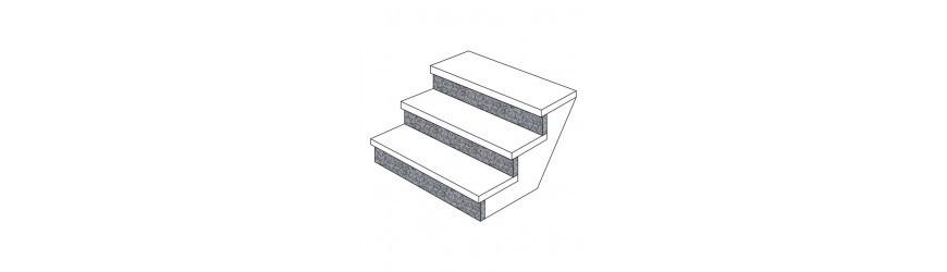 Podstopnie do schodów niestandardowych. Kup online - MarmurGranit.net