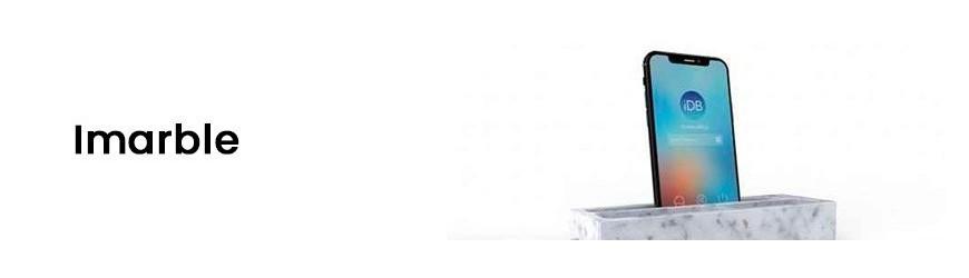 iMarble wykonany z Marmuru Bianco Carrara i Nero Marquinia